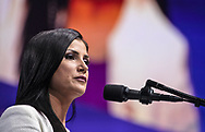 Dana Loesch speaks at the NRA-ILA Leadership Forum during the NRA Annual Meeting & Exhibits on <br /> May 4, 2018 in Dallas, Texas at the Kay Bailey Hutchison Convention Center.
