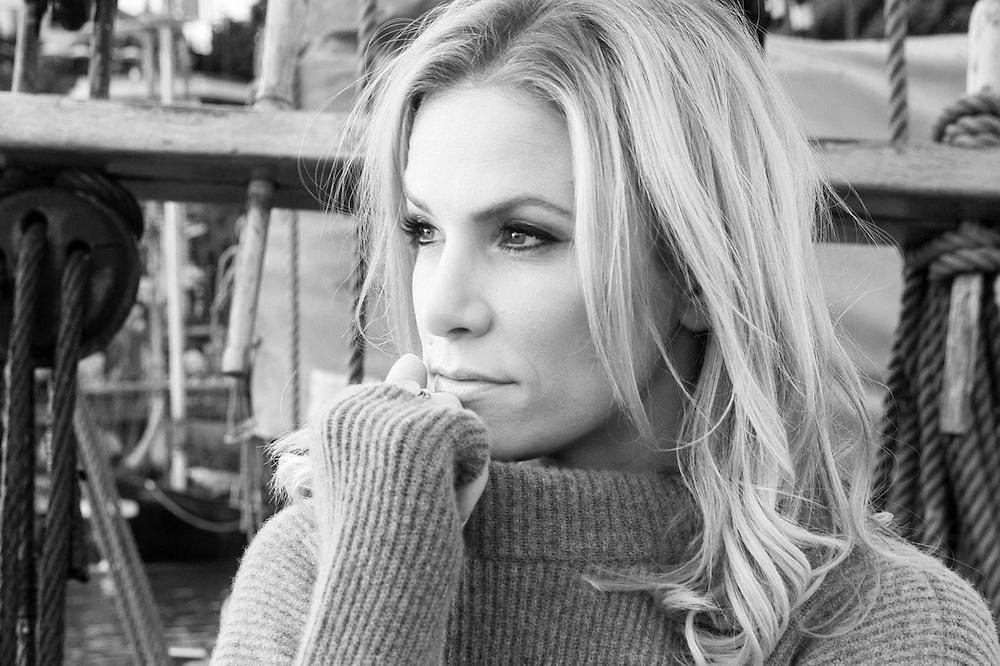 Schauspielerin Laura Preiss in Hamburg