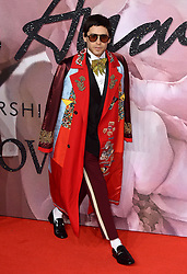 Jared Leto attending The Fashion Awards 2016 at The Royal Albert Hall in London. <br /> <br /> Picture Credit Should Read: Doug Peters/ EMPICS Entertainment
