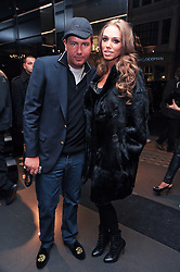 PETRA ECCLESTONE and JAMES STUNT at a party hosted by InStyle to celebrate the iconic glamour of Dolce & Gabbana held at D&G, 6 Old Bond Street, London on 3rd November 2010.