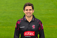 Head shot.  Johann Myburgh wearing the Somerset Royal London One-Day Cup kit at the media day at Somerset County Cricket Club at the Cooper Associates County Ground, Taunton, United Kingdom on 11 April 2018. Picture by Graham Hunt.
