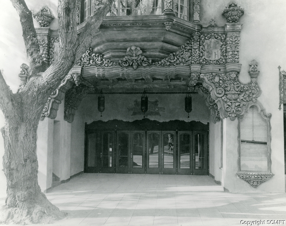 1927 Hollywood Playhouse Theater on Vine St.
