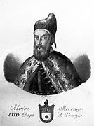 Portrait of Alvise I Mocenigo 1558. The Venetian Doge.