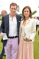 MAXI CARELLO and HERMIONE RUSSELL at the Cartier Queen's Cup Polo final at Guard's Polo Club, Smiths Lawn, Windsor Great Park, Egham, Surrey on 14th June 2015