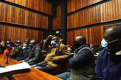 South Africa - Johannesburg -  18 June 2020 - A group of seven men implicated in the multi-billion-rand heist of VBS Mutual Bank appeared at the Palm Ridge Regional Court, the group faces charges of racketeering, fraud, corruption and money laundering.<br /> Picture: Itumeleng English/African News Agency(ANA)