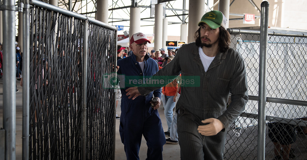 RELEASE DATE: August 18, 2017 TITLE: Logan Lucky STUDIO: Trans-Radial Pictures DIRECTOR: Steven Soderbergh PLOT: Two brothers attempt to pull off a heist during a NASCAR race in North Carolina. STARRING: ADAM DRIVER as Clyde Logan. (Credit Image: © Trans-Radial Pictures/Entertainment Pictures/ZUMAPRESS.com)