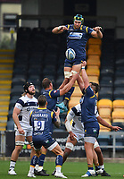 Rugby Union - 2019 / 2020 Gallagher Premiership - Worcester Warriors vs Bristol Bears<br /> <br /> Worcester Warriors' Graham Kitchener claims the lineout, at Sixways.<br /> <br /> COLORSPORT/ASHLEY WESTERN