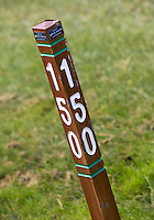 NUMANSDORP - 150 meter paaltje.  Golfclub Cromstrijen. COPYRIGHT KOEN SUYK