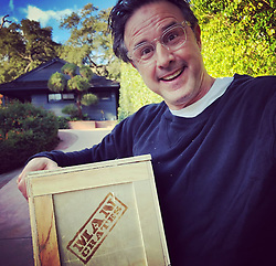 "David Arquette releases a photo on Twitter with the following caption: """"I can't wait to open my @mancrates !!!"""". Photo Credit: Twitter *** No USA Distribution *** For Editorial Use Only *** Not to be Published in Books or Photo Books ***  Please note: Fees charged by the agency are for the agency's services only, and do not, nor are they intended to, convey to the user any ownership of Copyright or License in the material. The agency does not claim any ownership including but not limited to Copyright or License in the attached material. By publishing this material you expressly agree to indemnify and to hold the agency and its directors, shareholders and employees harmless from any loss, claims, damages, demands, expenses (including legal fees), or any causes of action or allegation against the agency arising out of or connected in any way with publication of the material."