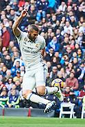 012117 Real Madrid v Malaga CF, La Liga football match