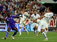 Paris/Parigi 6/9/2006 Stade de France Eliminatorie Euro 2008. France Italy 3-1 Francia Italia 3-1. Photo Andrea Staccioli INSIDE/Digitalsport<br /> Alberto GILARDINO Italy, Claude MAKELELE France<br /> Norway only