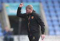 Hull City's manager Grant McCann <br /> <br /> Photographer Mick Walker/CameraSport<br /> <br /> The EFL League 1 - Shrewsbury Town v Hull City  - Saturday  20th March  2021 -  Montgomery Waters Meadow Stadium-Shrewsbury<br /> <br /> World Copyright © 2020 CameraSport. All rights reserved. 43 Linden Ave. Countesthorpe. Leicester. England. LE8 5PG - Tel: +44 (0) 116 277 4147 - admin@camerasport.com - www.camerasport.com