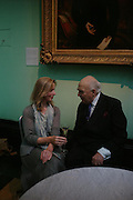 Lady gowrie and Lord Weidenfeld. Celebration of Lord Weidenfeld's 60 Years in Publishing hosted by Orion. the Weldon Galleries. National Portrait Gallery. London. 29 June 2005. ONE TIME USE ONLY - DO NOT ARCHIVE  © Copyright Photograph by Dafydd Jones 66 Stockwell Park Rd. London SW9 0DA Tel 020 7733 0108 www.dafjones.com