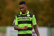 Forest Green Rovers midfielder Keanu Marsh-Brown (7) during the Vanarama National League match between Forest Green Rovers and Dagenham and Redbridge at the New Lawn, Forest Green, United Kingdom on 29 October 2016. Photo by Alan Franklin.