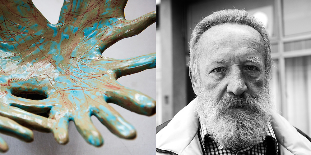 SFRY  Niko Zupan 2008  / The art director of Resen Ceramic Colony Mitko Nonevski