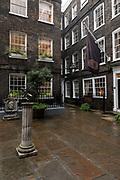Pickering Place courtyard on St James's Street the 26th September 2019 in London in the United Kingdom.