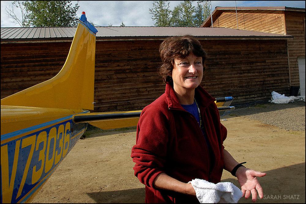 Dee Rice, pilot