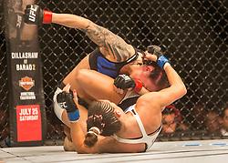 Joanne Calderwood (SCO) beats LCortney Casey-Sanchez, )UFC Glasgow on Saturday, July 18 at The Hydro.