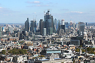 London City views from BT Tower