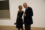 MARCHIONESS OF DOURA; JACON ROTHSCHILD, Mark Rothko private view. Tate Modern. 24 September 2008 *** Local Caption *** -DO NOT ARCHIVE-© Copyright Photograph by Dafydd Jones. 248 Clapham Rd. London SW9 0PZ. Tel 0207 820 0771. www.dafjones.com.