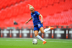 Jonna Andersson of Chelsea Women in action- Mandatory by-line: Nizaam Jones/JMP - 29/08/2020 - FOOTBALL - Wembley Stadium - London, England - Chelsea v Manchester City - FA Women's Community Shield