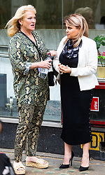 Nadia Essex outside her employment tribunal in London where she is suing Celebs Go Dating former co-host Eden Blackman for unfair dismissal. London, April 24 2019.