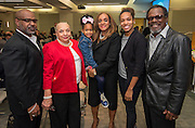 Rhonda Skillern-Jones, center, during a Houston ISD Board of Trustees meeting, January 15, 2015.