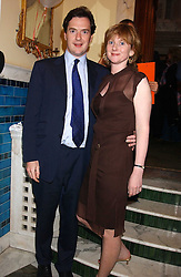 GEORGE OSBORNE MP and his wife  at the No Campaign's Summer Party - a celebration of the 'Non' and 'Nee' votes in the Europen referendum in France and The Netherlands held at The Peacock House, 8 Addison Road, London W14 on 5th July 2005.<br /><br />NON EXCLUSIVE - WORLD RIGHTS