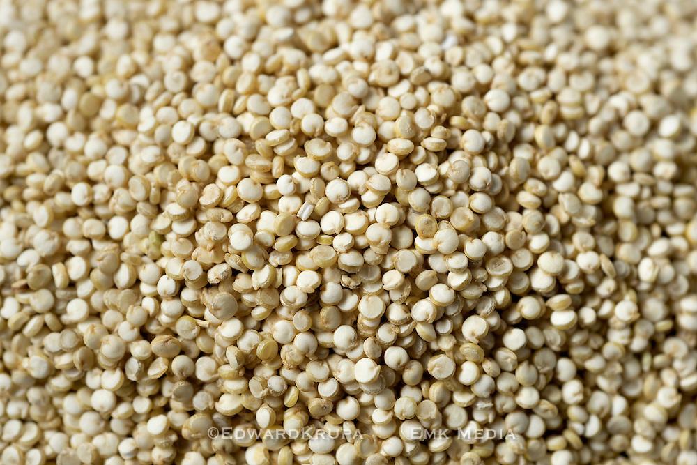 Quinoa seeds full frame close up.
