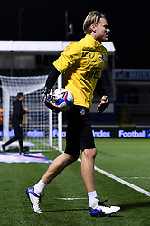 Anssi Jaakkola of Bristol Rovers warms up prior to kick off - Mandatory by-line: Ryan Hiscott/JMP - 27/10/2020 - FOOTBALL - Memorial Stadium - Bristol, England - Bristol Rovers v Hull City - Sky Bet League One