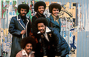 The Chi-lites photographed in London in the late 1970s.<br /> © Adrian Boot / Retna UK