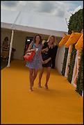 ANNA DAWSON; JEMMA DAWSON; , 2004 Veuve Clicquot Gold Cup Final at Cowdray Park Polo Club, Midhurst. 20 July 2014