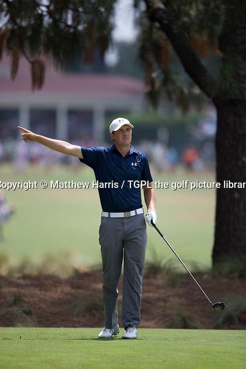 Jordan SPIETH (USA) during third round US Open Championship 2014,Pinehurst No 2,Pinehurst,North Carolina,USA.