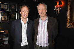 Left to right, brothers GEORDIE GREIG and LOUIS GREIG at a party to celebrate the publication of the 2007 Tatler Little Black Book held at Tramp, 40 Jermyn Street, London on 7th November 2007.<br />