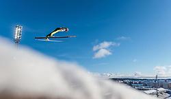 24.02.2017, Lahti, FIN, FIS Weltmeisterschaften Ski Nordisch, Lahti 2017, Nordische Kombination, Skisprung, im Bild Magnus Krog (NOR) // Magnus Krog of Norway during Skijumping of Nordic Combined competition of FIS Nordic Ski World Championships 2017. Lahti, Finland on 2017/02/24. EXPA Pictures © 2017, PhotoCredit: EXPA/ JFK