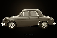The Renault Dauphine Gordini, which was released in the 1950s, is still in competition. Lovers of the Renault Gordini will do everything to keep it in excellent condition and through their passion this car will continue to exist. It is not difficult to understand that it is used in competitions because this Renault Gordini was designed for that purpose. –<br /> <br /> BUY THIS PRINT AT<br /> <br /> FINE ART AMERICA<br /> ENGLISH<br /> https://janke.pixels.com/featured/renault-dauphine-gordini-black-and-white-jan-keteleer.html<br /> <br /> WADM / OH MY PRINTS<br /> DUTCH / FRENCH / GERMAN<br /> https://www.werkaandemuur.nl/nl/shopwerk/Renault-Dauphine-Gordini-Zwart-en-Wit/743791/132?mediumId=11&size=75x50<br /> <br /> -