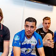 NLD/Zwolle/20180418 - Johnny de Mol onthult de nieuwe Eredivisiebal, Mustafa Saymak