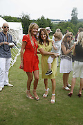 GRACE RICCI AND EMILY OPPENHEIM-TURNER, Guy Leymarie and Tara Getty host The De Beers Cricket Match. The Lashings Team versus the Old English team. Wormsley. ONE TIME USE ONLY - DO NOT ARCHIVE  © Copyright Photograph by Dafydd Jones 66 Stockwell Park Rd. London SW9 0DA Tel 020 7733 0108 www.dafjones.com