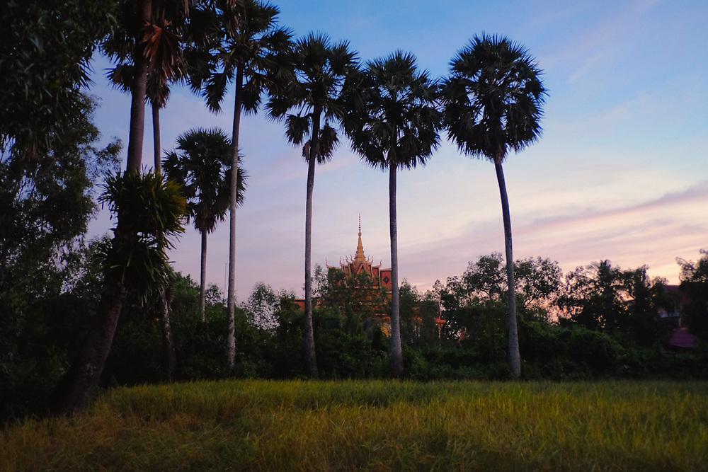 Wat Teauk Veal Temple near Kampot, Cambodia.<br /> Photo by Lorenz Berna