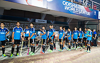 BHUBANESWAR -  Hockey World League finals ,  . Argentina v Spain . Team Argentina. . COPYRIGHT KOEN SUYK