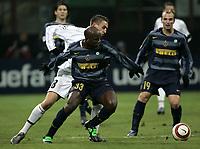 Milan 23-11-2005<br />Inter Artmedia Bratislava <br />Champions League 2005-2006<br />nella  foto Wome<br />Foto Snapshot / Graffiti