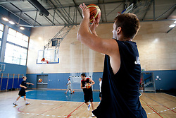 Goran Jagodnik during media day at training camp of Slovenian National Basketball team for Eurobasket Lithuania 2011, on July 19, 2011, in Arena Ljudski vrt, Ptuj, Slovenia.  (Photo by Vid Ponikvar / Sportida)