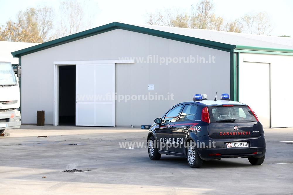 INCIDENTE MORTALE SUL LAVORO CARLO PANZAVOLTA OPERAIO SCHIACCHIATO DA GRU SU CAMION DITTA REAMAR BOSCO MESOLA