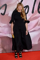 Molly Goddard attending The Fashion Awards 2016 at The Royal Albert Hall in London. <br /> <br /> Picture Credit Should Read: Doug Peters/ EMPICS Entertainment
