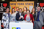 27/1/16 US Chargé d'affaires Reece Smyth at the New York state stand at the Holiday World Show 2017 at the RDS Simmonscourt in Dublin. Picture: Arthur Carron
