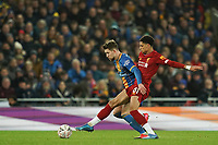 Football - 2019 / 2020 Emirates FA Cup - Fourth Round, Replay: Liverpool vs. Shrewsbury Town<br /> <br /> Liverpool's Ki-Jana Hoever battles with Shrewsbury Town's Callum Lang  , at Anfield.<br /> <br /> COLORSPORT/TERRY DONNELLY