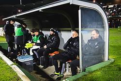 bench of mura before football match between NŠ Mura and NK Bravo in 20th Round of Prva liga Telekom Slovenije 2019/20, on December 5, 2019 in Fazanerija, Murska Sobota, Slovenia. Photo by Blaž Weindorfer / Sportida