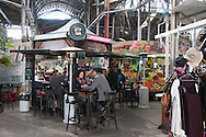 In the covered market of San Telmo