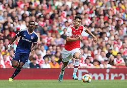 Gabriel Martnelli of Arsenal  runs with the ball - Mandatory by-line: Arron Gent/JMP - 28/07/2019 - FOOTBALL - Emirates Stadium - London, England - Arsenal v Olympique Lyonnais - Emirates Cup