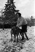1962 - Orla Ní Shíochain, Dublin Model working in Paris home for Christmas